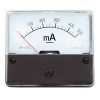 Moving iron panel meter