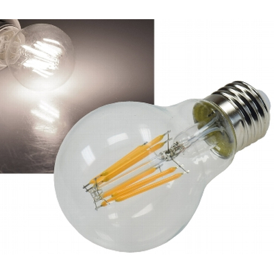 LED Filament Lampe 8W warmweiß 3000K klar - G60N