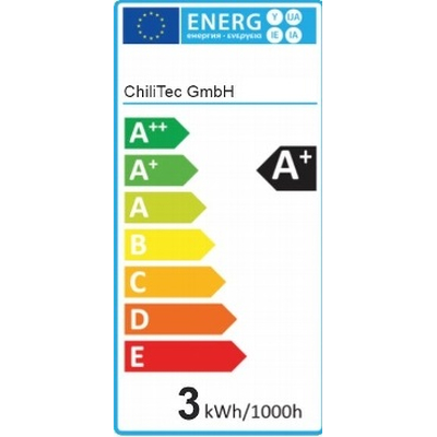LED Stiftsockellampe 3 Watt warmweiß 3000K