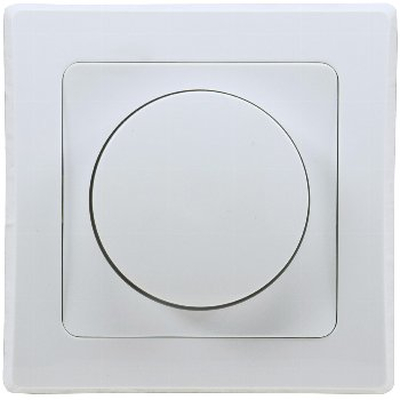 Dimmer for LED lamps incl. Frame UP white