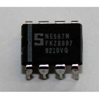 Ne567n circuit pll-tondekoder with far frequency range = lm567cn dip8