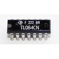 TL084CN Quadro operational amplifier