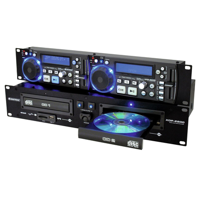 Dual CD and MP3 player for CD, USB and SD - XDP-2800