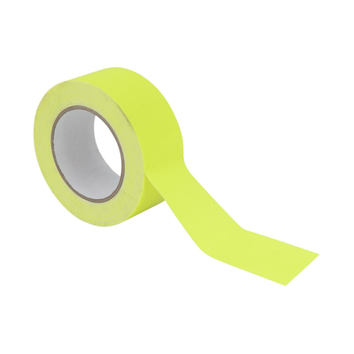 Gaffa Tape 50mm x 25m neon-yellow uv active