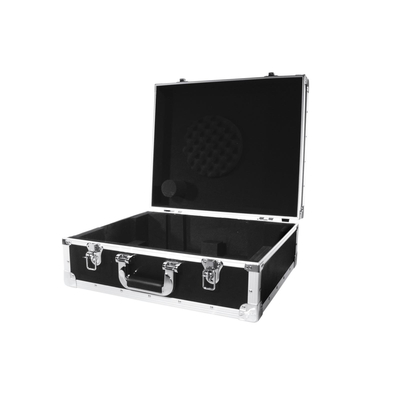 Flightcase for a turntable with S-tone arm (up to 450 mm wide) - Case black -S