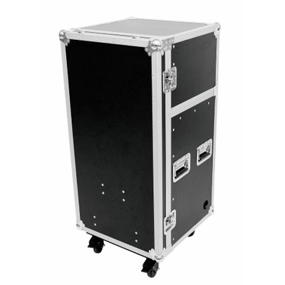 19 Stage case with integrated desk -  Pro with wheels