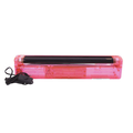 UV tube complete fixture 45cm 15W ABS red