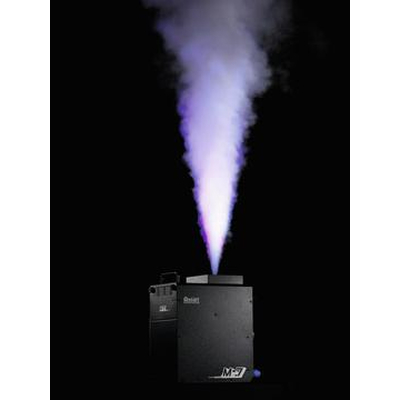 High-performance fog machine with RGBA LEDs, wireless remote control and wireless DMX system M-7E Stage Fogger