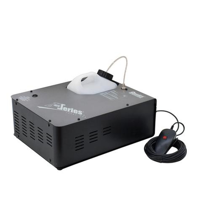 Fog machine with vertical fog output and DMX interface Z-1020 with Z-10 ON/OFF controller