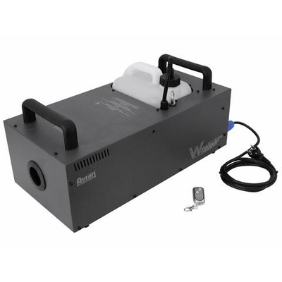 High-performance fog machine with digital wireless control system and wireless DMX receiver W-515D Fogger