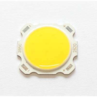 COB LED 5W warm white 3000-3200K  15-17VDC