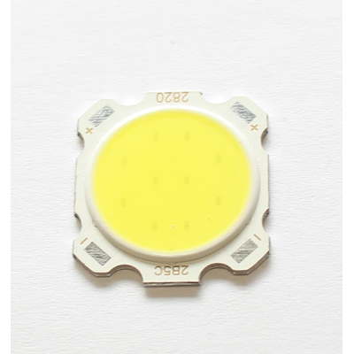 COB LED 5W cool white 6000-3500K 15-17VDC