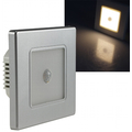 LED wall - flush-mounted luminaire 2.5W with motion...