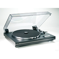 Turntable CS 455-1 black / silver