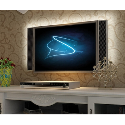 LED Stripe TV Set warm white; 3000K - TV background lighting ww