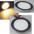 LED downlight 0.5W warm white; 3000K - EBL Slim round ww