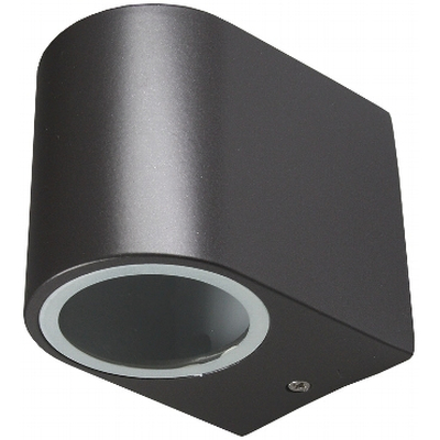 Wall light with GU10 socket IP44 anthracite - CTW-1a