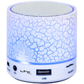 Bluetooth speaker with LED lighting and hands-free kit...