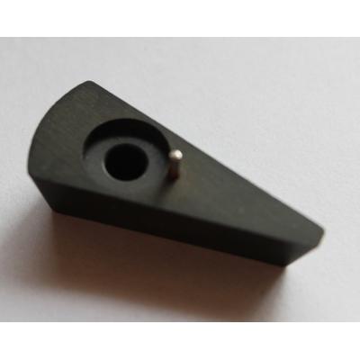 2 Stk.DDR Drehknopf Zeigerknopf bis 6mm Achse