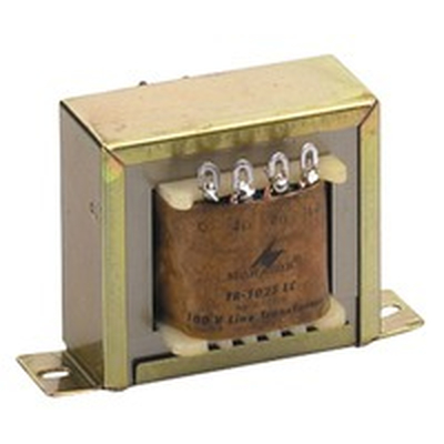 100-V-Leistungs-Audio-Transformator  25W max TR-1025LC