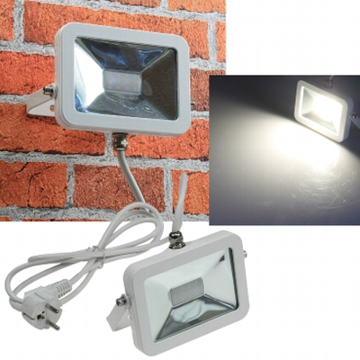 LED-Fluter 10 Watt neutral white 4000K IP65 white